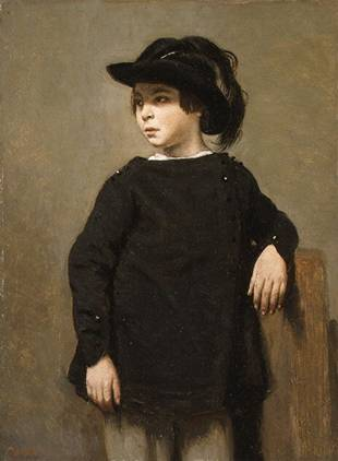 A Boy, ca. 1835 (Jean-Baptiste-Camille Corot) (1796-1875)    The Metropolitan Museum of Art, New York, NY 29.100.564