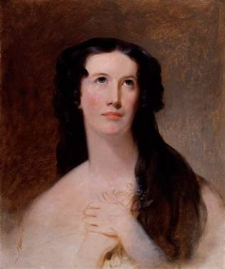 Mary Ann Paton, 1836 (Mrs. Wood) (Thomas Sully) (1783-1872)   National Portrait Gallery, London   NPG 1351