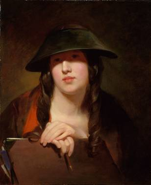 The Student, 1839 (Thomas Sully) (1783-1872)   The Metropolitan Museum of Art, New York, NY    14.126.4