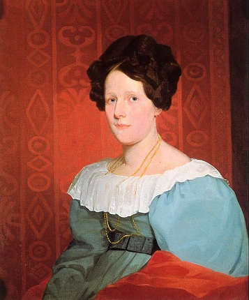 Catherine Anne Russell (Mrs. Samuel Nelson), ca. 1835 (Samuel F. B. Morse) (1791-1872)   Location TBD