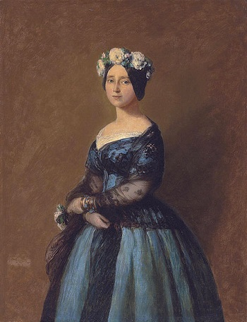Augusta, Princess of Prussia, 1846 (Franz Xaver Winterhalter) (1805-1873) Christie's Fine Art Auctions, Sale 8039, Lot 43