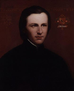 Augustus Welby Northmore Pugin, ca. 1840 (Unknown Artist) National Portrait Gallery, London, NPG 1404