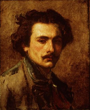 Self-Portrait, ca. 1840 (Thomas Couture) (1815-1879) New Orleans Museum of Art, LA