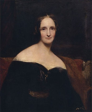 Mary Shelley, 1840 (Richard Rothwell) (1800-1868) National Portrait Gallery, London, NPG 1235