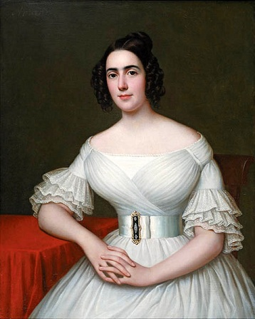 Mme. Augustine Massicot Tanneret, ca. 1843 (Jacques Amans) (1801-1888) The Historic New Orleans Collection, LA
