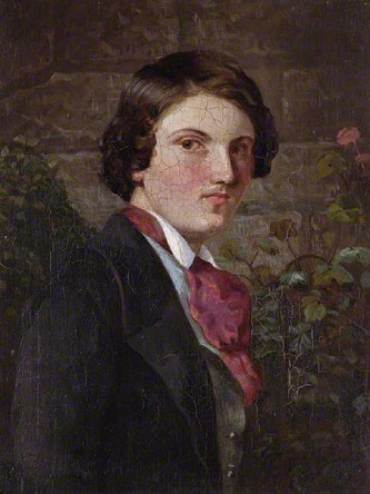 Self-Portrait, ca. 1849 (Walter Howell Deverell) (1827-1854) Location TBD