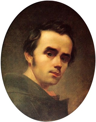 Self-Portrait, 1840 (Taras Shevchenko) (1814-1861) Location TBD