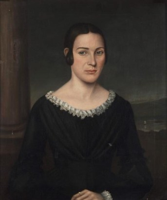 Catherine Small Pitcairn, ca. 1843 (Unknown American Artist) The Huntingtpn, San Marino, CA