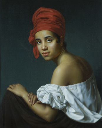 A Woman, ca. 1840 (Jacques Amans) (1801-1888) The Historic New Orleans Collection, LA, 2010.0306