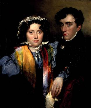 Charlotte Sophia Scott and John Gibson Lockhart, after 1838 (Robert Scott Lauder) (1803-1896) Scottish National Portrait Gallery, Edinburgh PG 2672