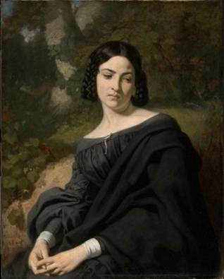 A Widow, 1840 (Thomas Couture) (1815-1879) Museum of Fine Arts, Boston, MA 23.499