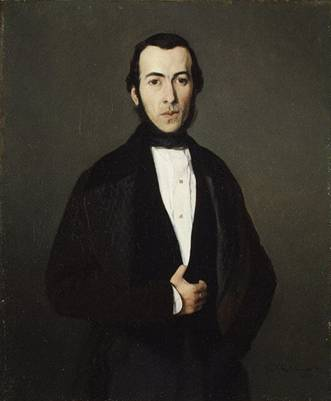 A Man, possibly the Count of Saint-Auffage, 1840 (Theodore Chassériau) (1819-1856) The Metropolitan Museum of Art, New York, NY 49.110
