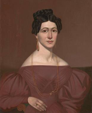 Eliza C. Ayres, ca. 1840 (Unknown American Artist) Indianapolis Museum of Art, IN 72.38.2
