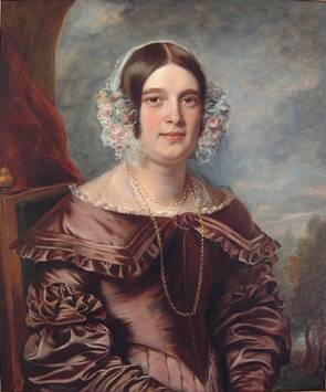 Elizabeth Prettejohn Pitts, née Harris at 30 years old, ca. 1842 (John Ponsford) (1790-1870) Location TBD