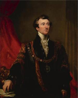 John Johnson, Lord Mayor of London, ca. 1845 (Sir George Hayter) (1792-18771) Sotheby's Old Masters Sale 6/5/09 Lot 24