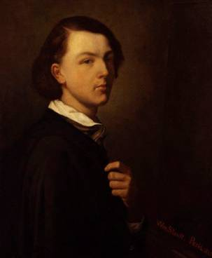 Self-Portrait, 1845 (William Strutt) (1825-1915) National Portrait Gallery, London NPG 5527