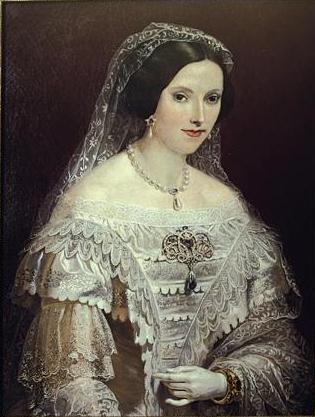 Maria Adelaide of Austria, Queen of Sardinia, ca. 1845 (Unknown Artist) Location TBD