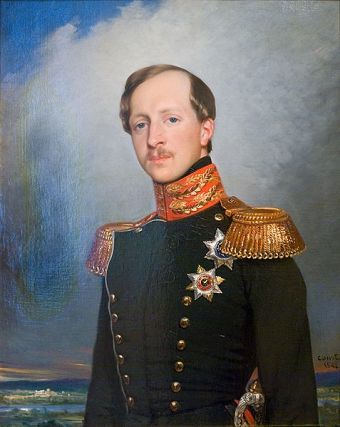 Prince Peter of Oldenburg, 1842 (Joseph Desire Court) (1797-1865)The State Hermitage: Museum of Guards, General Staff Building, St. Petersburg