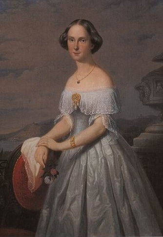 Amalia of Saxe-Weimar Eisenach, ca. 1850 (Unknown Artist) Location TBD