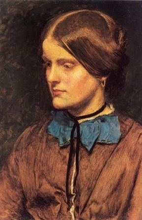 Annie Miller, 1854 (Sir John Everett Millais) (1829-1896) Location TBD