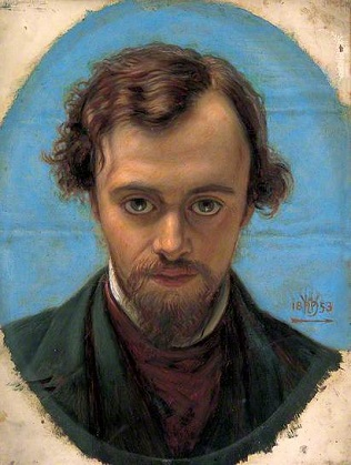 Dante Gabriel Rosetti, 1853 (William Holman Hunt) (1827-1910) Birmingham Museums Trust, UK