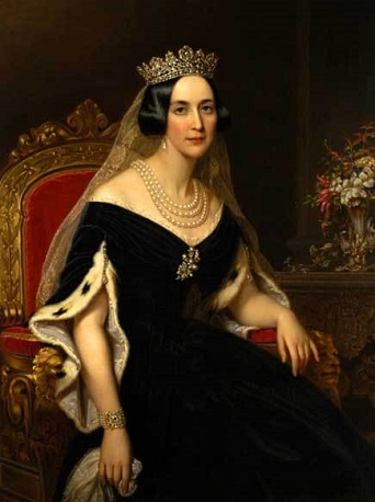 Josephine of Leuchtenberg, Queen of Sweden, ca. 1851 (Axel Nordgen) (1828-1888) Location TBD