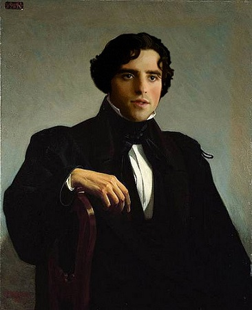 Monsieur M., 1850 (Willam-Adolphe Bouguereau) (1825-1905) Location TBD