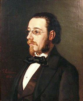 Bedrich Smetana, 1854 (Geskel Saloman) (1821-1902) Location TBD