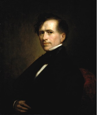 Franklin Pierce, President of the U.S., 1853 (George Peter Alexander Healy) (1813-1894) National Portrait Gallery, Washington D.C., NPG65.49