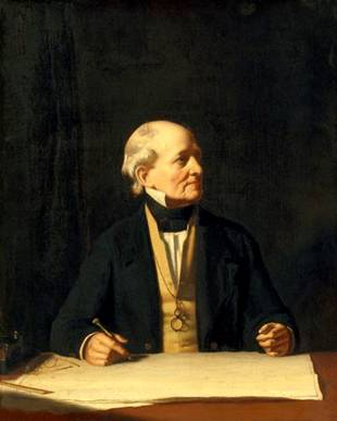 Sir Francis Beaufort, 1850 (Stephen Pearce) (1819-1904) National Portrait Gallery, London NPG 918