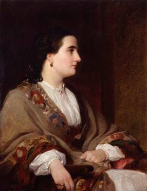 Lucie, Lady Duff-Gordon, 1851 (Henry Wyndham Phillips) (1820-1868) National Portrait Gallery, London NPG 5584