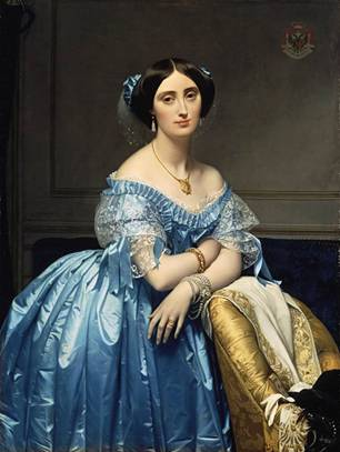 Princesse de Broglie, ca. 1851–53 (Jean Ingres) (1780-1867) The Metropolitan Museum of Art, New York, NY 1975.1.186