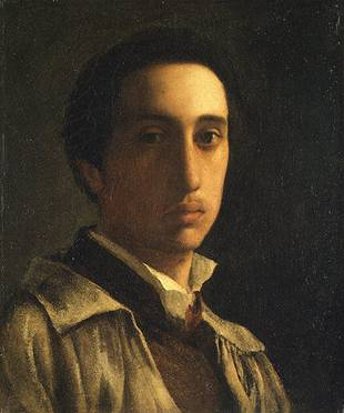Self-Portrait, ca. 1854 (Edgar Degas) (1834-1917) The Metropolitan Museum of Art, New York, NY 61.101.6