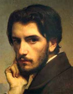 Self-Portrait, ca. 1855 (Leon Bonnat) (1833-1922) Location TBD