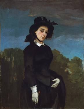 Madame Clément Laurier, ca. 1856 (Gustave Courbet) (1819-1877) The Metropolitan Museum of Art, New York, NY 29.100.59