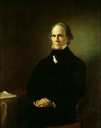Henry Clay, ca. 1858 (Henry F. Darby) (1829-1897) U.S. Senate Art Collection Cat. no. 32.00002.000