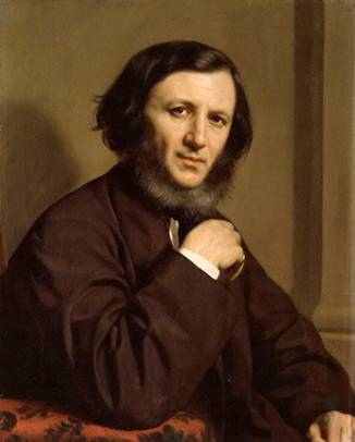 Robert Browning, 1858 (Michele Gordigiani) (1830-1909) National Portrait Gallery, London NPG 1898