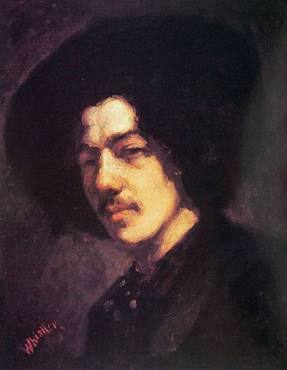 Self Portrait (James McNeill Whistler) (1834-1903) Location TBD