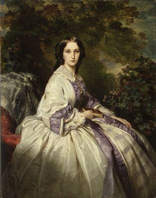 Countess Alexander Nikolaevitch Lamsdorff, 1859 (Franz Xaver Winterhalter) (1805-1873) The Metropolitan Museum of Art, New York, NY 67.187.119