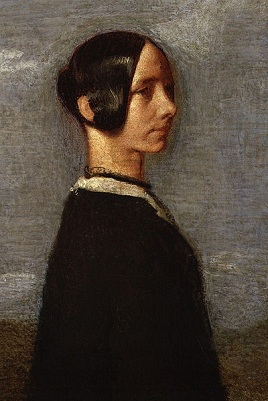 Jane Welsh (detail), 1852 (Samuel Laurence) (1812-1884) National Portrait Gallery, London, NPG 1175