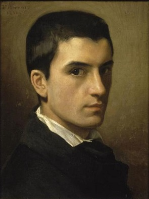 Self-Portrait, 1850 (Léon Bonnat) (1833-1922) Location TBD