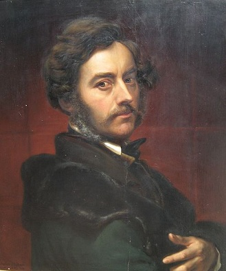 Self-Portrait, 1859 (Julius Huebner) (1806-1882) Location TBD