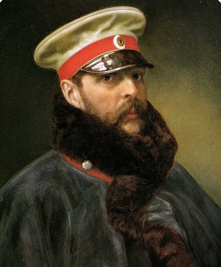 Alexander II, Tsar of Russia, 1865 (Unknown Artist)  State Hermitage Museum, St. Petersburg