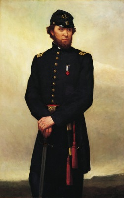 Captain William Madigan, ca. 1866 (William Morris Hunt) (1824-1879)  Brigham Young Museum of Art, Provo, UT,  830000800