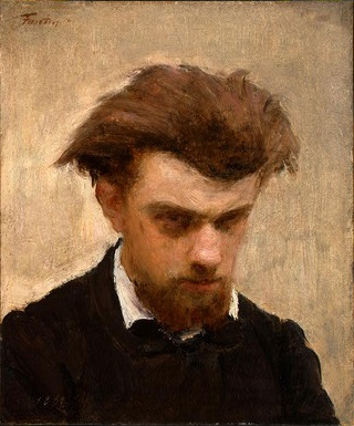 Self-Portrait, 1861 (Henri Fantin-Latour) (1836-1904)  Location TBD