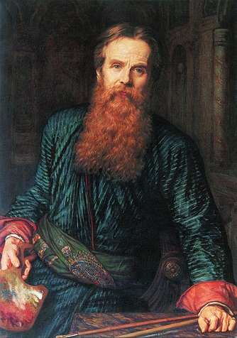 Self-Portrait, 1867 (William Holman Hunt) (1827-1910)  Galleria degli Uffizi, Firenze