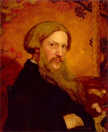 Self-Portrait, ca. 1860 (Ford Maddox Brown) (1821-1893)  Location TBD