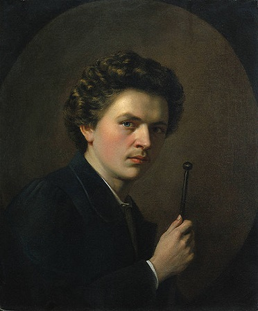 Self-Portrait, 1863 (Henri Regnault) (1843-1871)   Cleveland Museum of Art, 1980.279