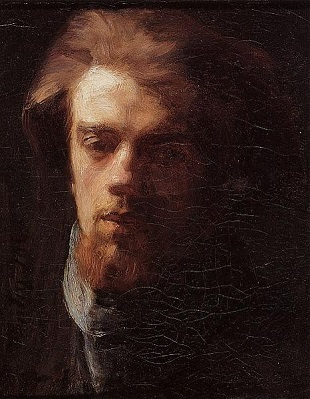 Self-Portrait, 1860 (Henri Fantin-Latour) (1836-1904)  Location TBD
