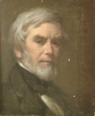Self-Portrait, ca. 1865 (Robert Walter Weir) (1803-1889)  Brigham Young Museum of Art, Provo, UT,  824000066